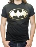 Batman - Gold Foil Logo T-Shirt (Medium)
