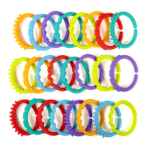 Bright Starts: Lots O Links - (24 pieces)