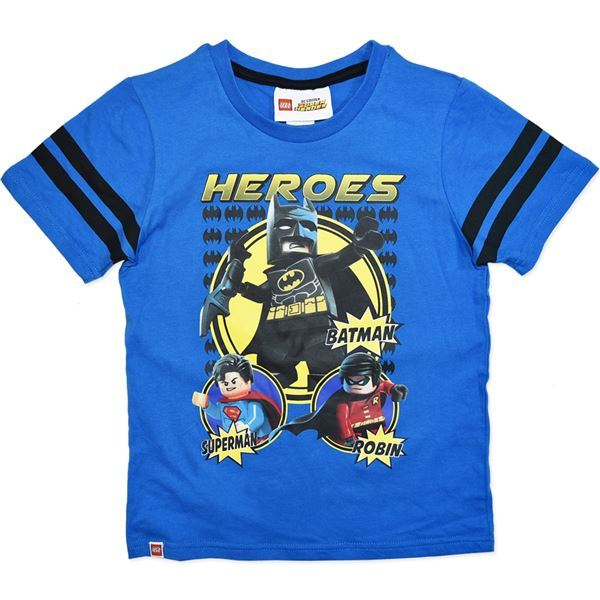 LEGO DC Comics Batman T-Shirt (Size 6)