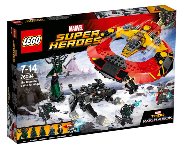 LEGO Super Heroes: The Ultimate Battle for Asgard (76084)
