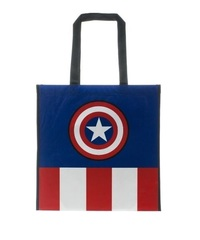 Marvel: Captain America Print - Unisex Tote Bag