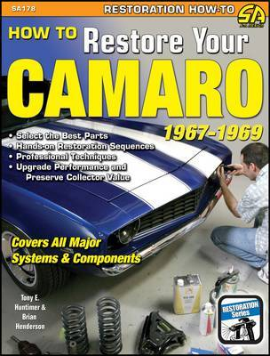 How to Restore Your Camaro 1967-1969 by Tony E. Huntimer image