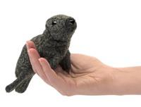 Folkmanis: Mini Harbor Seal - Plush Puppet