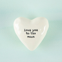 Natural Life: Heart Token - Love You Moon