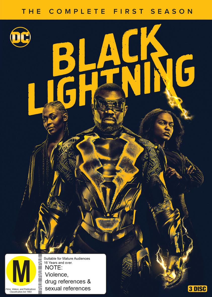 Black Lightning Season 1 on DVD image