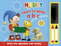 Noddy Write and Wipe ABC: Write and Wipe Book by Enid Blyton image