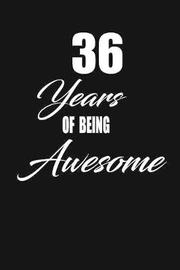 36 years of being awesome by Nabuti Publishing image