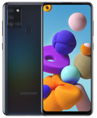 Samsung: Galaxy A21s (64GB/4GB RAM) - Black