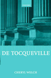 De Tocqueville by Cheryl B. Welch image