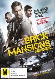 Brick Mansions on DVD