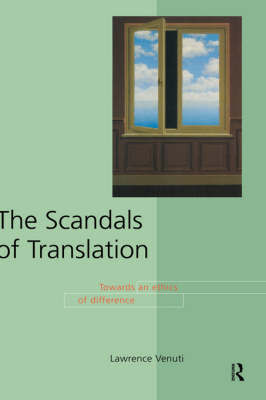 The Scandals of Translation by Lawrence Venuti image
