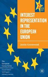 Interest Representation in the European Union by Justin Greenwood image