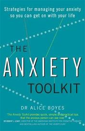 The Anxiety Toolkit by Alice Boyes