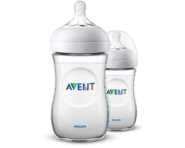 Philips Avent Natural Bottle - 260ml (2 Pack)