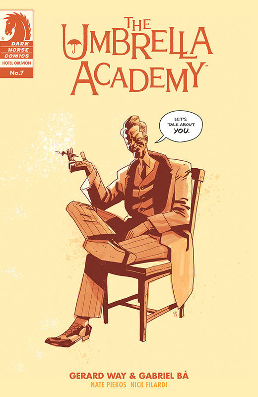 Umbrella Academy: Hotel Oblivion - #7 (Cover B) by Gerard Way