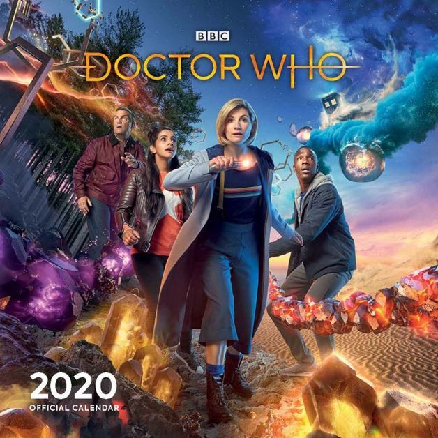 Doctor Who 2020 Square Wall Calendar