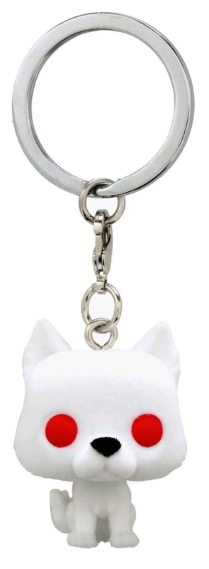 Game of Thrones: Ghost Flocked - Pocket Pop! Keychain