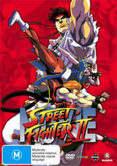 Street Fighter II - The Animated Movie on DVD