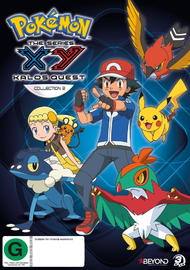 Pokemon: XY Kalos Quest Collection 2 on DVD