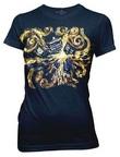 Doctor Who: Van Gogh Exploding Tardis T-Shirt - Medium