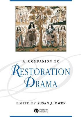 A Companion to Restoration Drama image
