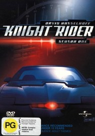 Knight Rider - Season 1 (8 Disc Box Set) on DVD image