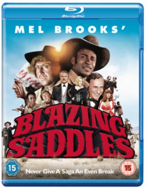 Blazing Saddles on Blu-ray