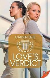 Love's Verdict by Carsen Taite image