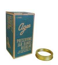 Agee Regular Preserving Jar Bands (12Pc)