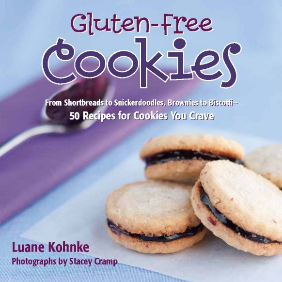 Gluten Free Cookies: From Shortbreads to Snickerdoodles, Brownies to Biscotti : 50 Recipes for Cookies You Crave by Luane Kohnke image