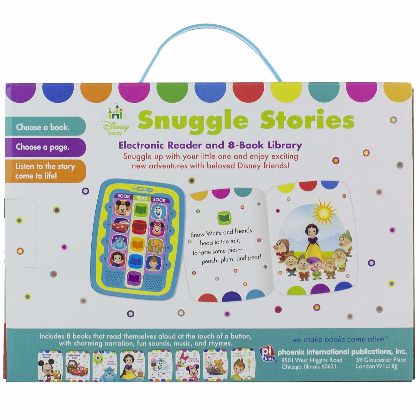 Disney Baby Snuggle Stories – 8-Book Library and Me Reader Jr. Electronic Reader image