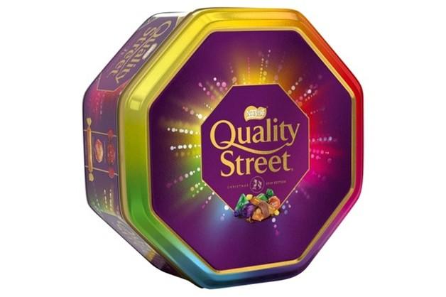 Quality Street Chocolates Tin Christmas Edition (1kg)