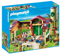 Playmobil - Barn with Silo (5119)