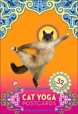 Cat Yoga Postcards (32 Postcards) by Rick Tillotson