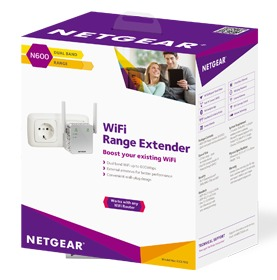 Netgear EX3700 Wireless-AC750 Universal WiFi Range Extender image