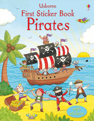 First Sticker Book Pirates by Sam Taplin