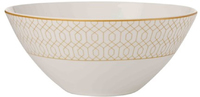 Maxwell & Williams Cashmere Nocturne Bowl 17cm White/Gold