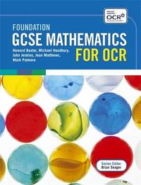 Foundation GCSE Mathematics for OCR Two Tier Course by Eddie Wilde image