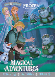 Disney Frozen Northern Lights Magical Adventures by Parragon Books Ltd image