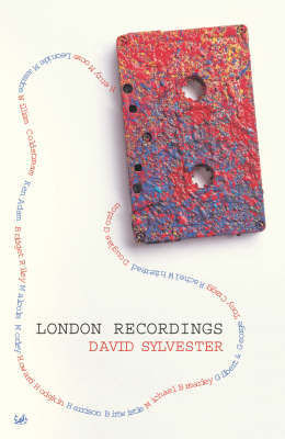 London Recordings by David Sylvester image