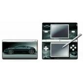 Nintendo DS Lite Modding Skin - Black Car for Nintendo DS