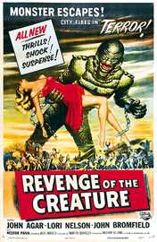 Revenge Of The Creature on DVD