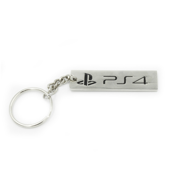 Official PlayStation 4 PS4 Logo Keychain / Keyring