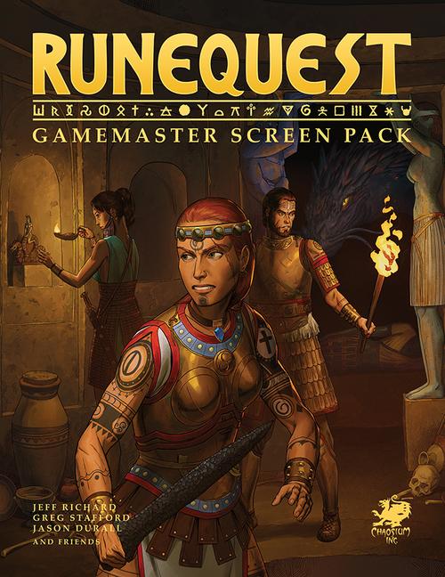 Runequest Gamemaster Screen Pack