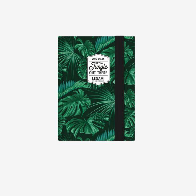 Legami: Mini Photo Weekly 12 Month 2020 Diary - Jungle