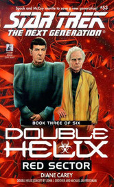 Double Helix: No.3: Red Sector by Diane Carey