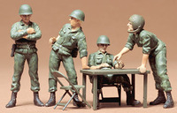 Tamiya US Command Field Meeting 1:35 Model Kit image