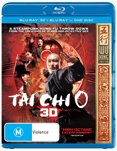 Tai Chi Zero on Blu-ray