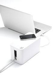 Bluelounge CableBox Mini Cable Management Solution - White
