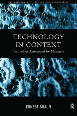 Technology in Context by Ernest Braun image